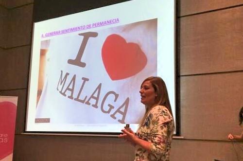 Celia Domínguez explica en Málaga cómo fortalecer la imagen de marca a través de los eventos
