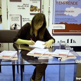 Firma de libros en El Corte Ingles