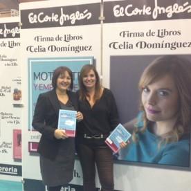 Celia Domínguez con Sandra Rubio de Custom Home